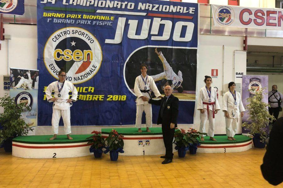 Campionato nazionale judo csen 2018